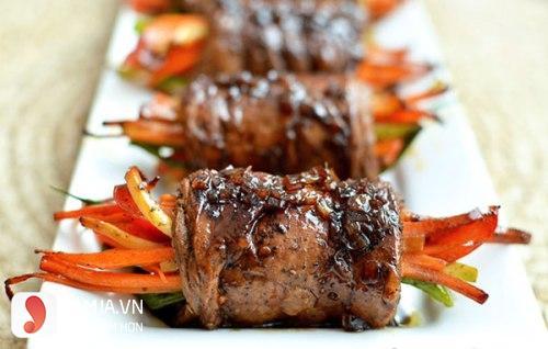 bò nướng cà rốt 2