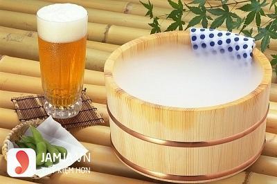 Tắm trắng bằng bia và sữa tươi 2