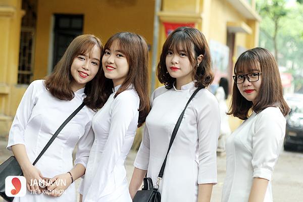 các kiểu áo dài học sinh cấp 3 đẹp