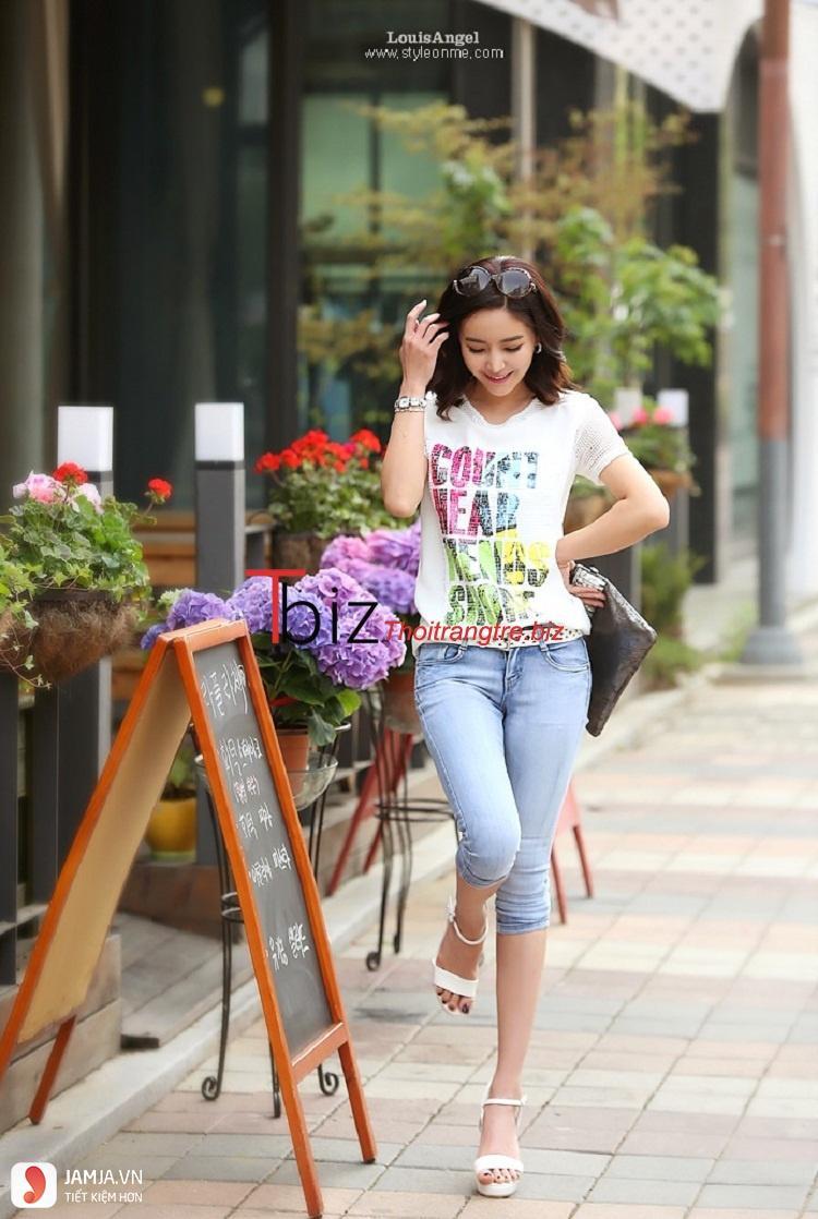 Các phụ kiện mix với quần jean và áo phông 2