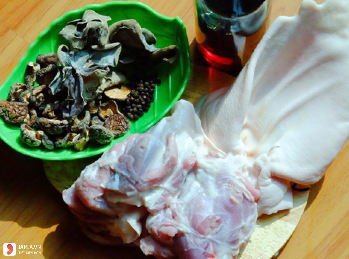 cách chế biến thịt ba chỉ nấu đông 1