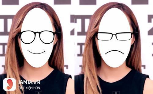 chọn kính cận phù hợp với khuôn mặt dài