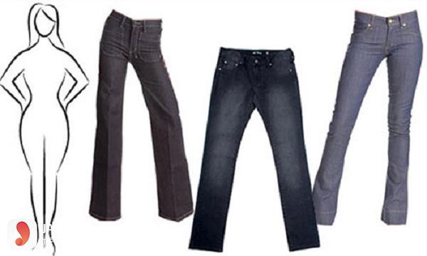 cách chọn size quần jean nữ 1