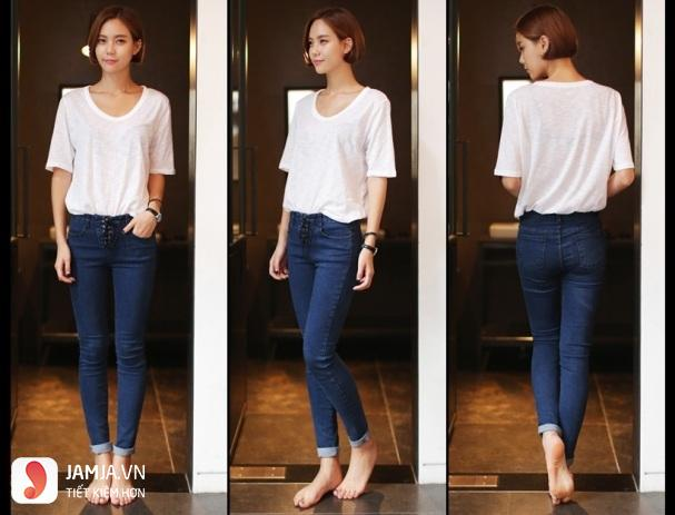 Cách chọn size quần jeans nữ8