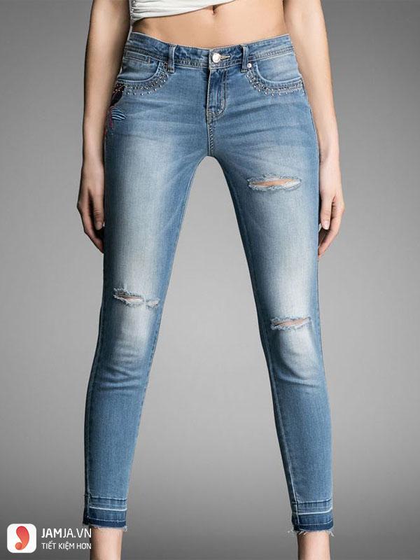 Cách chọn size quần jeans nữ10
