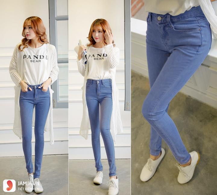 Xu hướng thời trang quần jean hiện nay