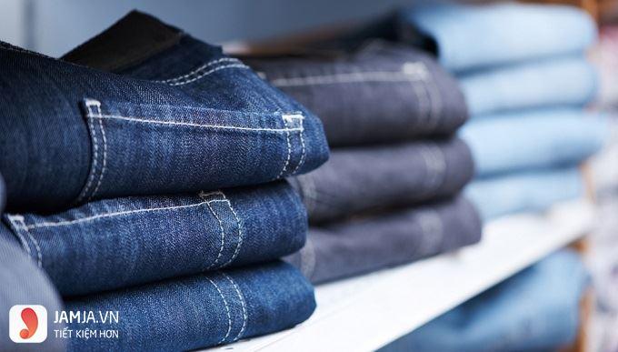 Cách giữ màu và độ co dãn của quần jean.2