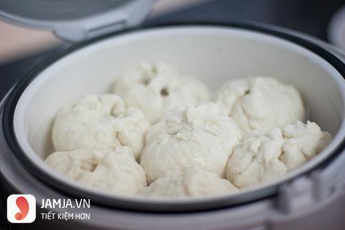 Cách làm bánh bao bằng nồi cơm điện 1