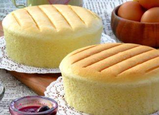 cách làm bánh bông lan bằng bột mì đa dụng