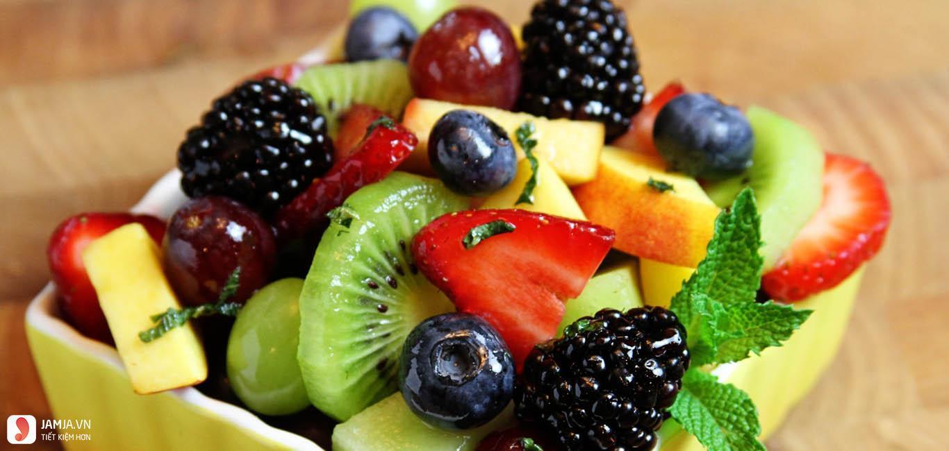 Cách làm bánh sinh nhật rau câu trái cây 3