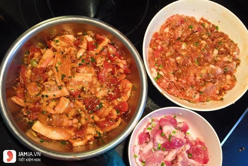 Cách làm bún thịt nướng 3