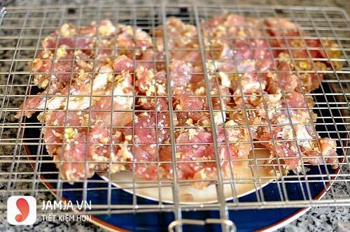 Cách làm bún thịt nướng 7