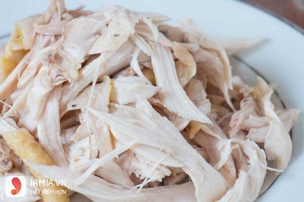cách làm gỏi gà bắp chuối 3