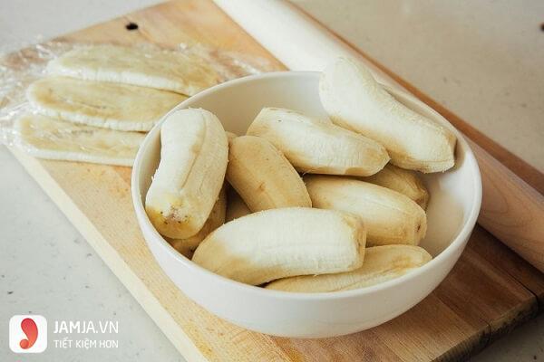 Cách làm kem chuối không cần nước cốt dừa 4