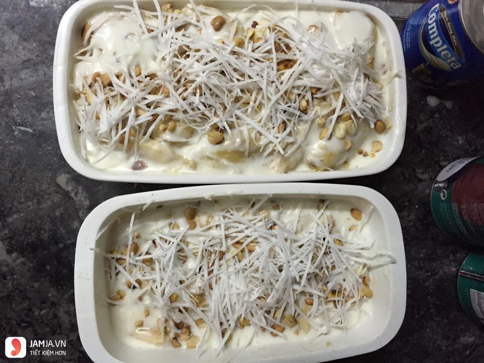 Cách làm kem chuối không cần nước cốt dừa 5