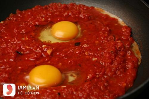 cách làm mì xào trứng cà chua 2
