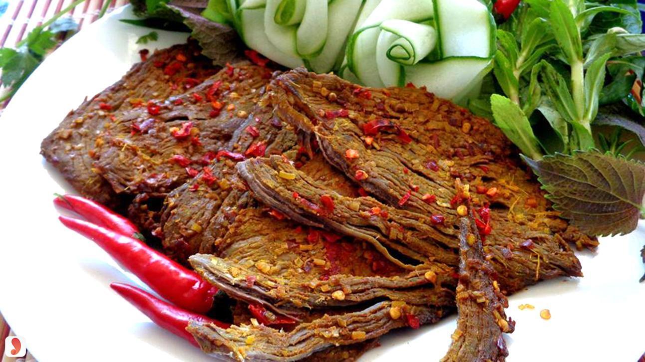 Cách làm thịt lợn giả bò khô kiểu Hàn 4