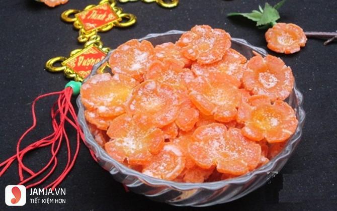 Cách làm mứt cà rốt giòn - 1