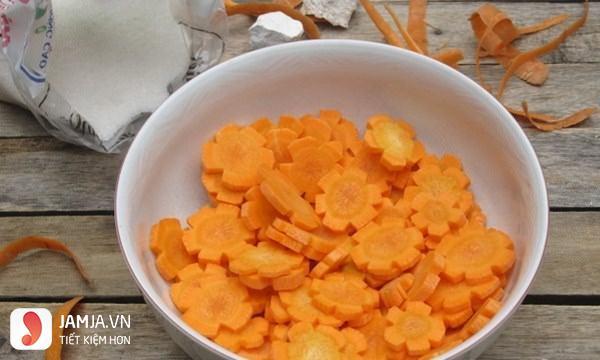 Cách làm mứt cà rốt giòn - 2