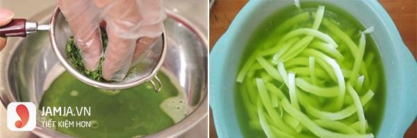 Cách làm mứt dừa màu xanh nhanh