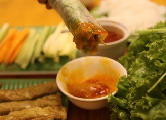 cách làm nước chấm nem nướng Nha Trang