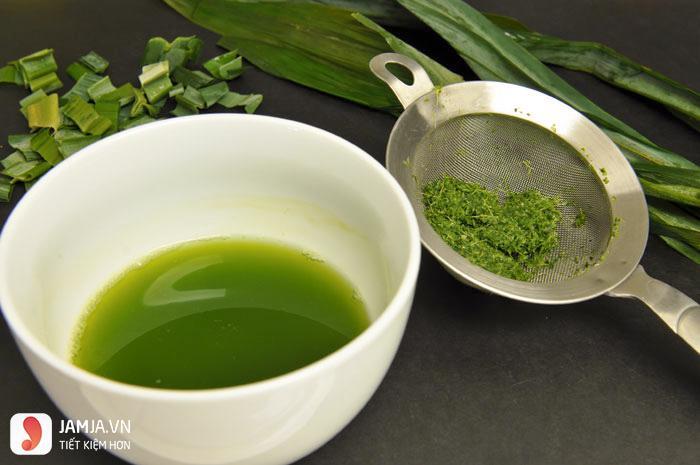 Cách làm rau câu lá dứa không bị đắng - 3