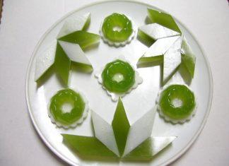 Cách làm rau câu lá dứa không bị đắng