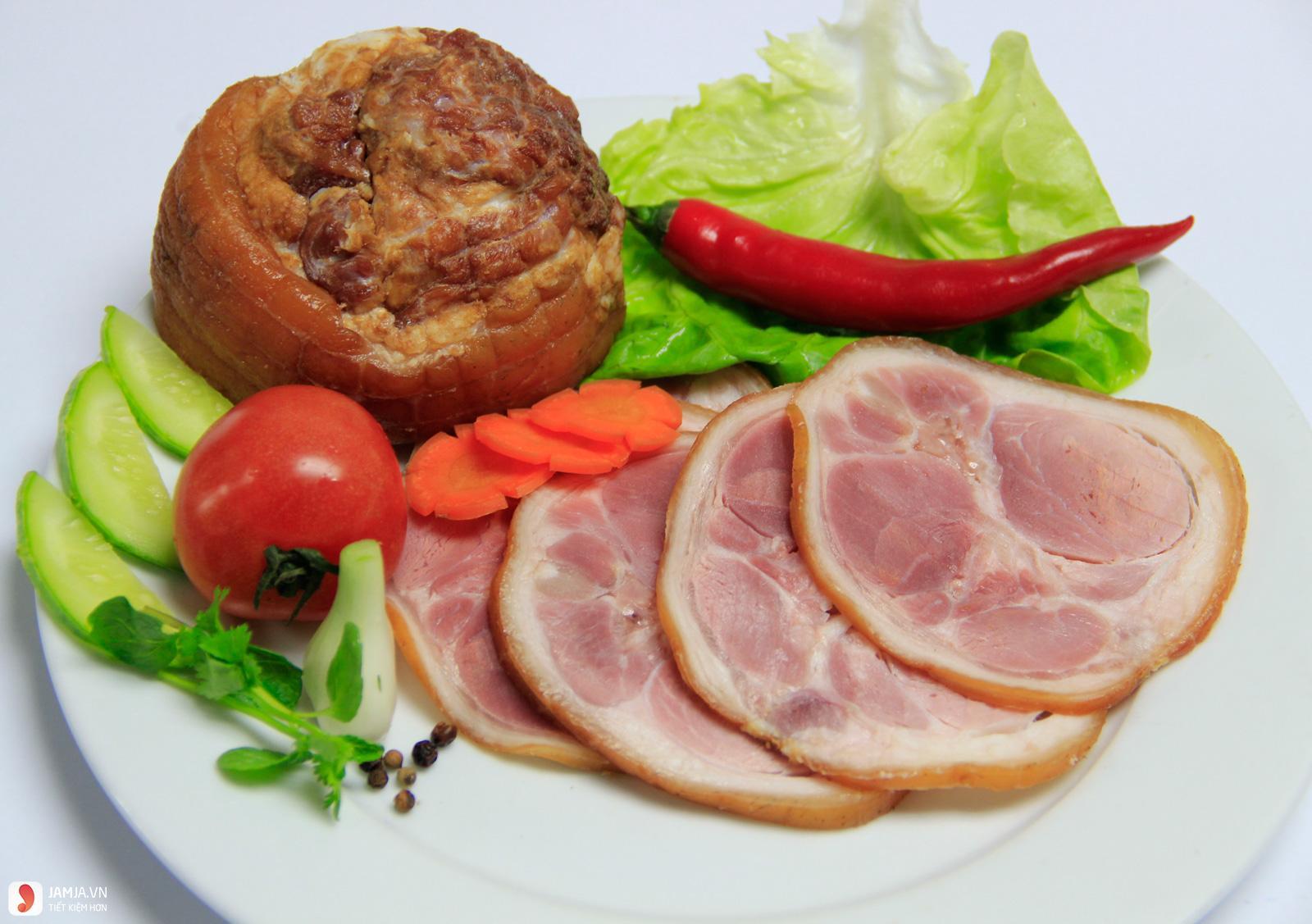 cách làm thịt lợn hun khói 7
