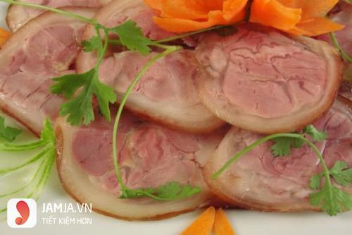 cách làm thịt lợn hun khói 1