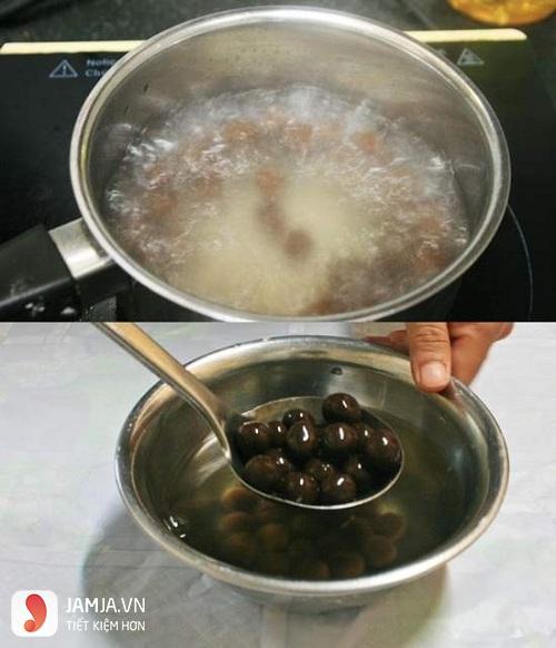 cách làm trân châu từ bột sắn dây 2