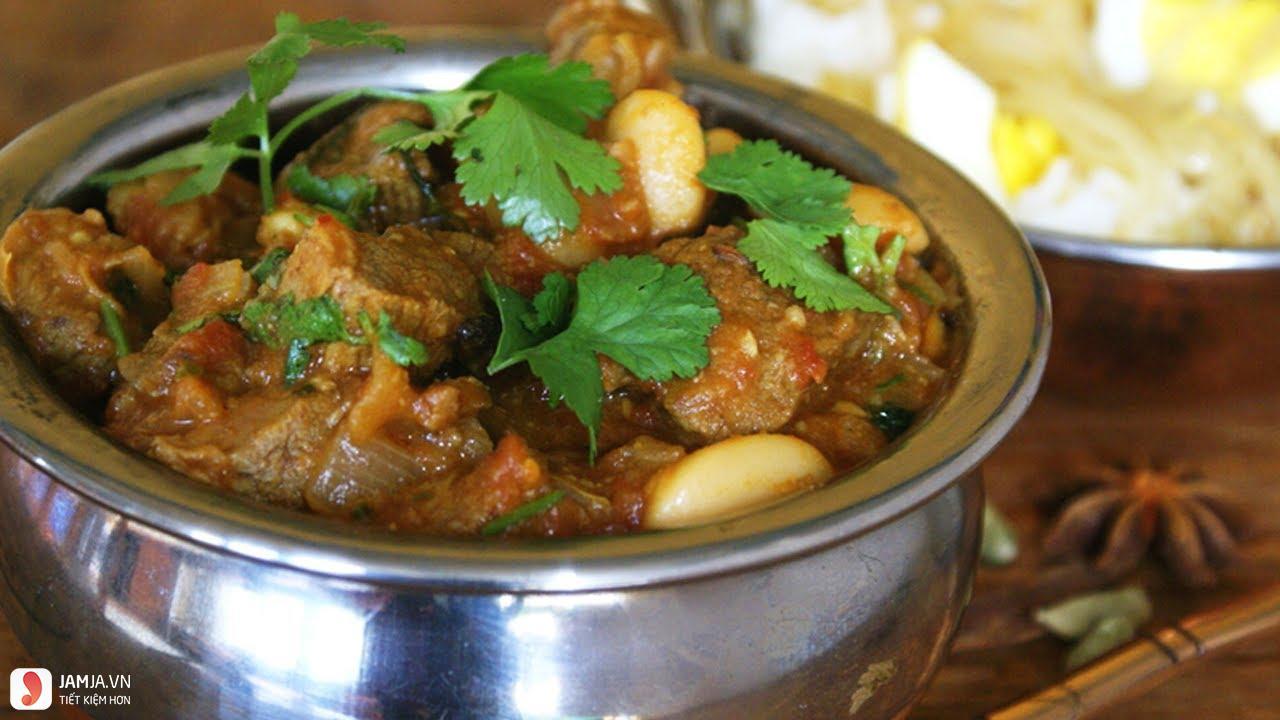 Cách nấu cari bò nước cốt dừa 2