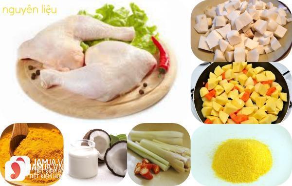 Cách làm món cari gà cho trời đông thêm ấm áp 2