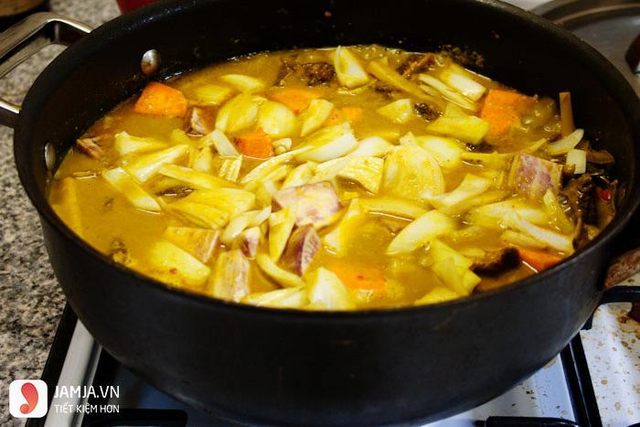 cách nấu cari gà Ấn Độ 3