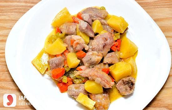 Cách nấu cari gà kiểu thái 1