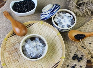Cách nấu chè đậu đen nước cốt dừa