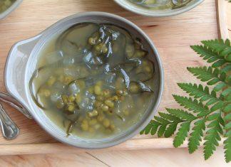 Cách nấu chè đậu xanh nguyên hạt