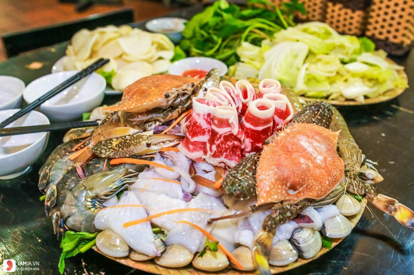 Cách nấu lẩu Thái hải sản 3
