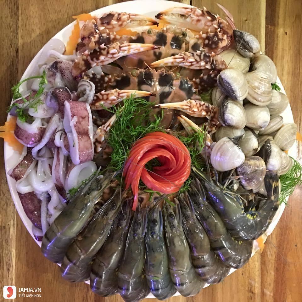 Cách nấu lẩu Thái hải sản 2