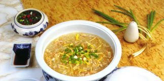 cách nấu súp cua