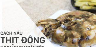 Cách nấu thịt đông chân giò 6