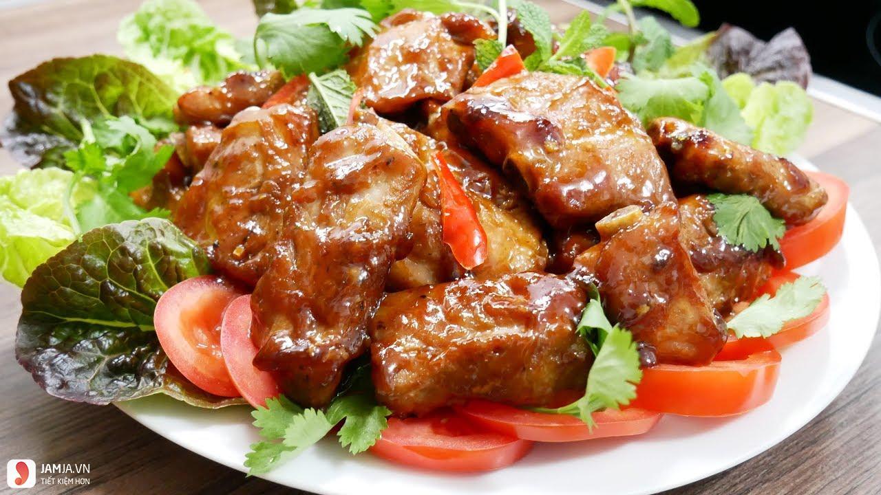 Cách nấu thịt lợn chua ngọt 1