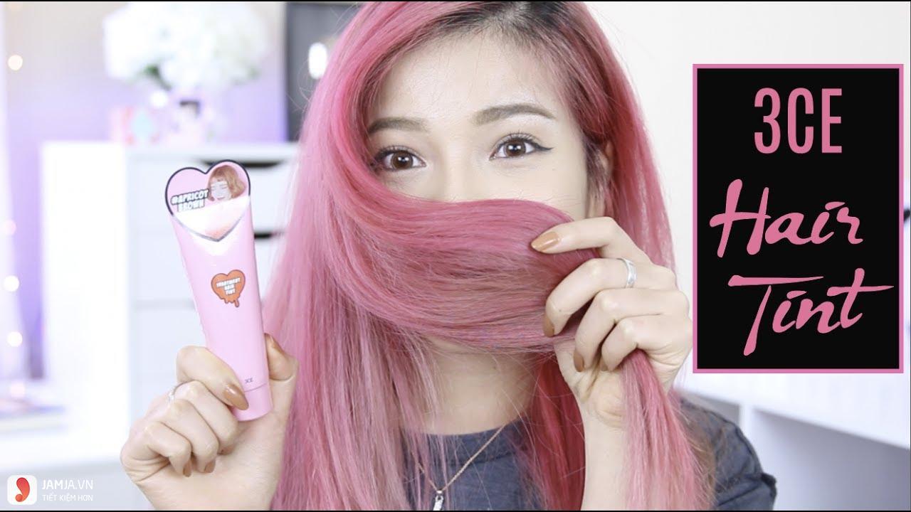 Cách nhuộm tóc màu hồng tại nhà 2