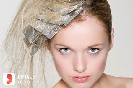 Cách pha thuốc nhuộm tóc màu hồng 3