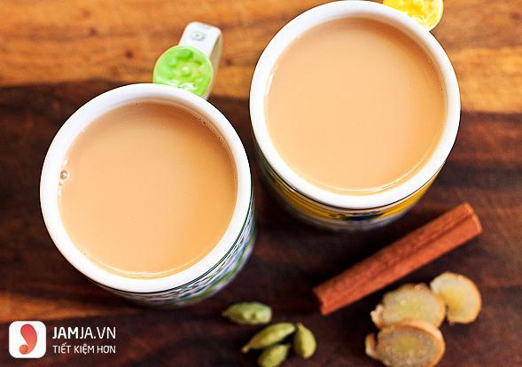 Cách pha trà sữa nóng 1