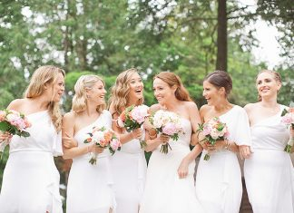 cách phối đồ đi đám cưới