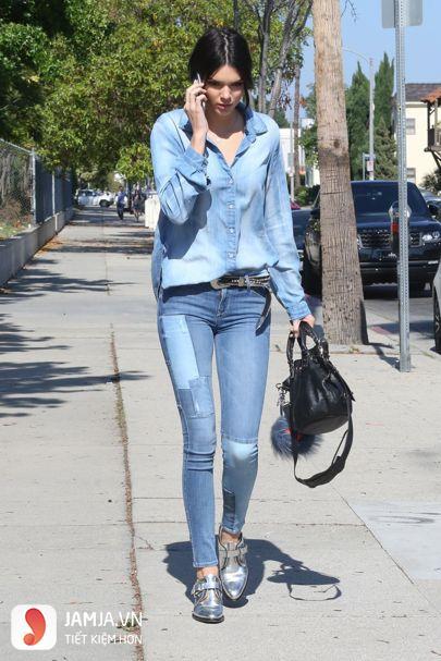Cách phối đồ với quần jean nữ áo sơ mi