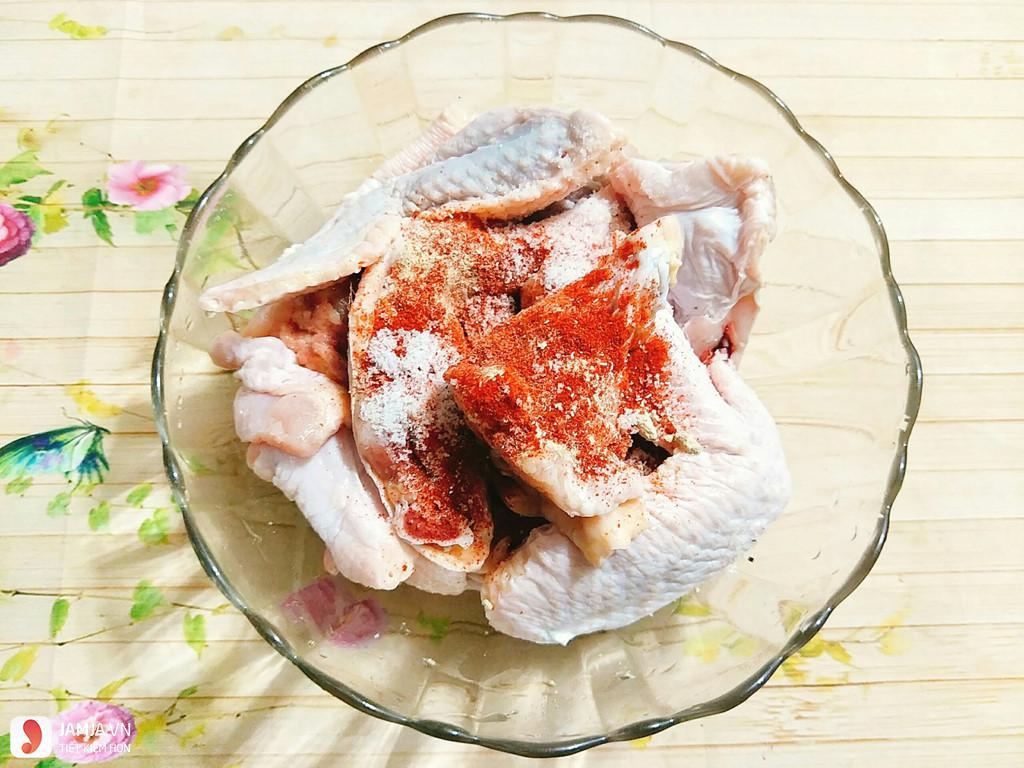 Cách ướp cánh gà nướng 1