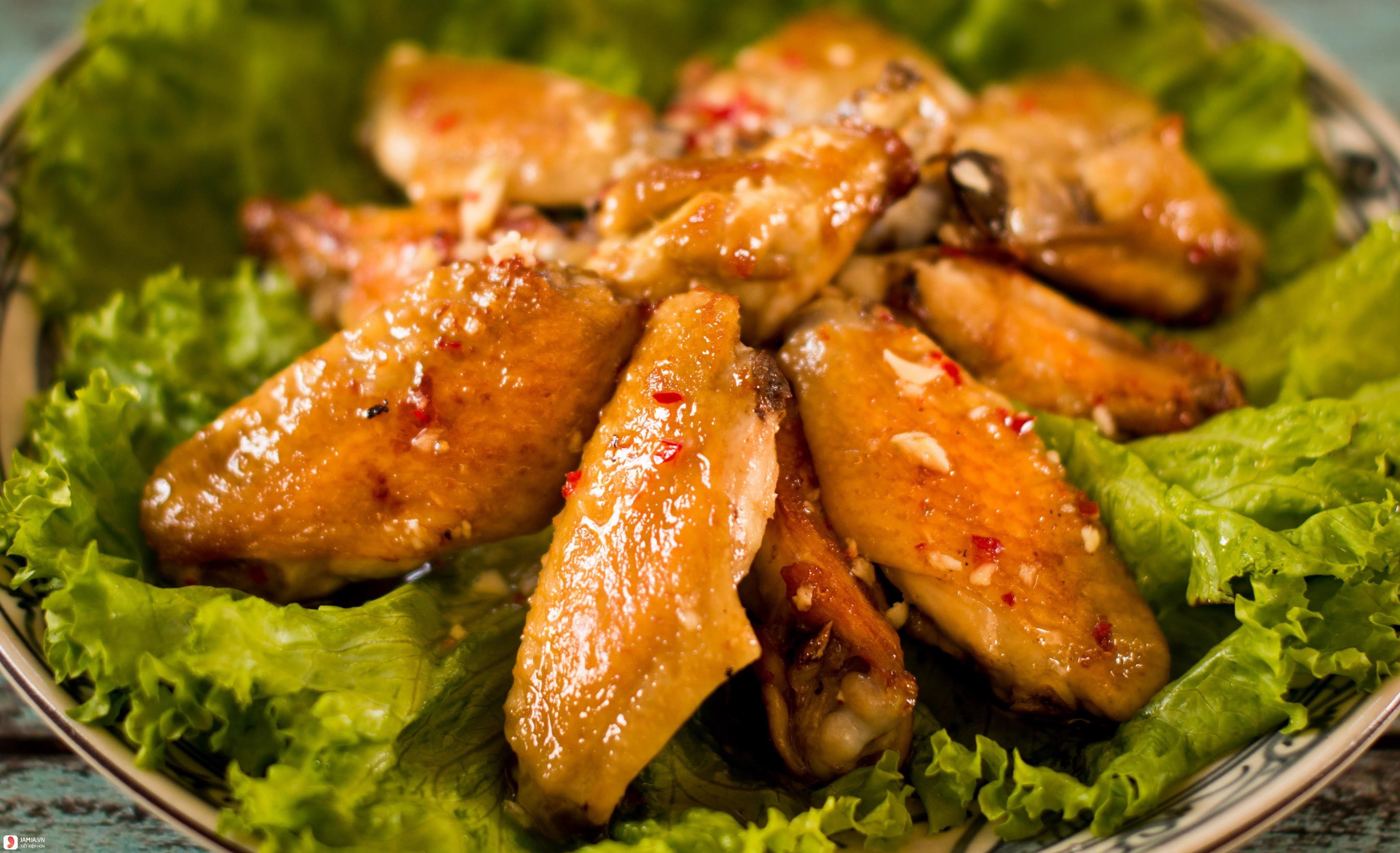 Cách ướp cánh gà nướng 2
