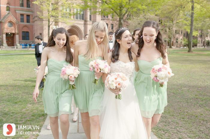 Đi đám cưới nên mặc váy màu gì 2