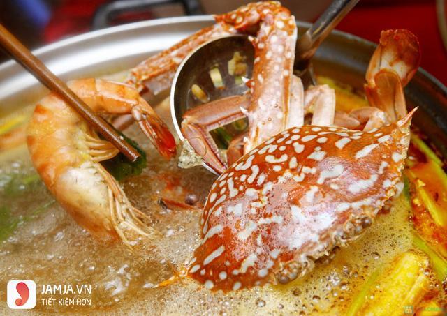 địa chỉ ăn lẩu hải sản ngon ở Hà Nội 1